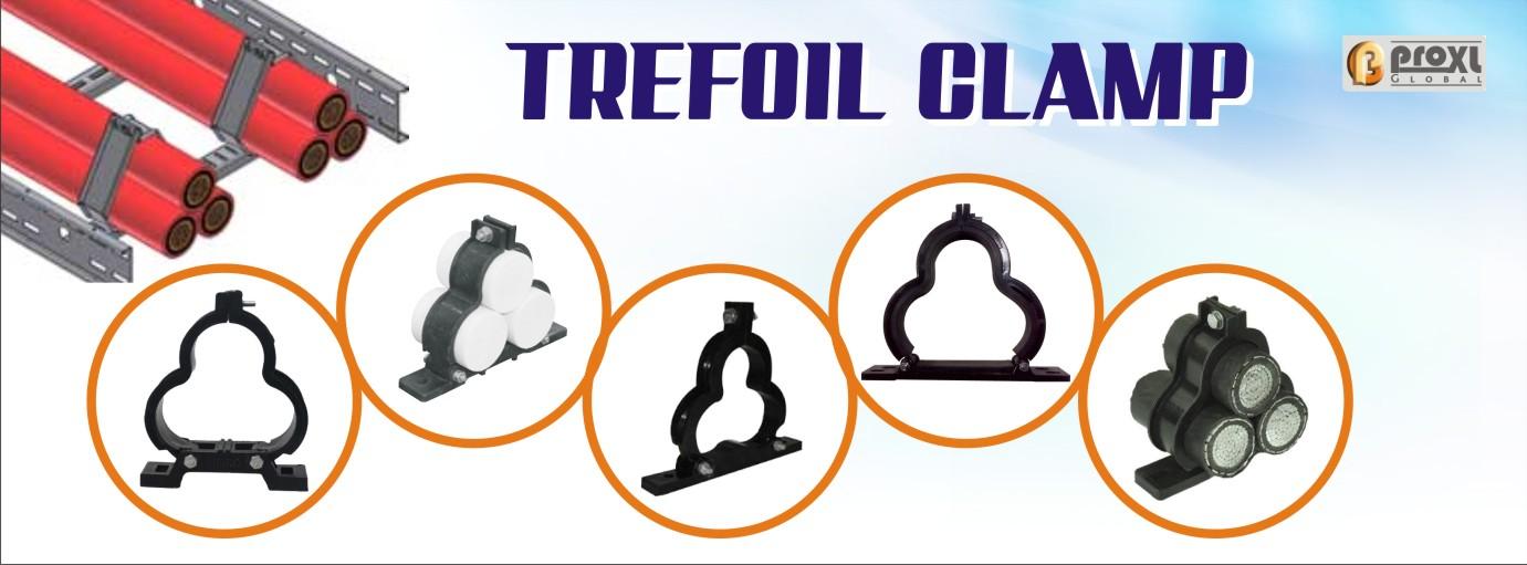Trefoil-Clamp